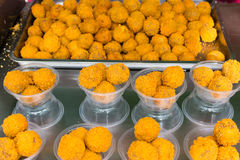 Boules de viande de Fried Curry Photos libres de droits