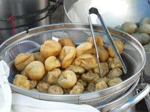 Boules de viande frites Image stock