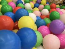 Boules en plastique Photo libre de droits