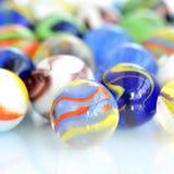 Boules en verre Photographie stock