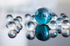 Boules en verre Image stock