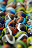 Boules en verre colorées Images stock