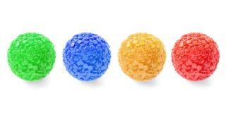 Boules en verre décoratives Photographie stock libre de droits