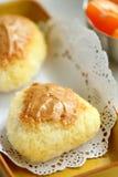 Boules de riz de beurre d'arachide Photos stock