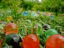 Boules magiques colorées images stock