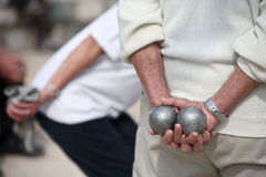 Boules (Petanque) Game Stock Photography