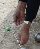 Boules (Petanque) game, Stock Images
