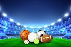 Boules pour Team Sport Games illustration stock