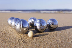 Boules set Stock Photo
