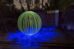 Boules vertes réalistes la photographie d'art photo libre de droits