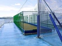 Bouleshof aan boord van het cruiseschip Costa Magica stock fotografie