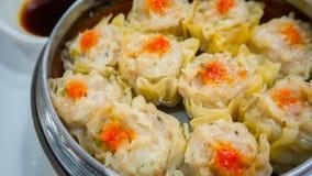 Boulette cuite à la vapeur chinoise photo libre de droits