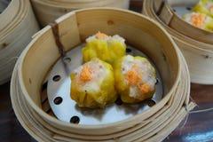 Boulette de Chinois de porc et de crevette Photos stock