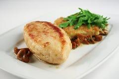 Boulette de viande de poulet Photos libres de droits