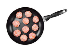 Boulette de viande de viande hachée Photographie stock