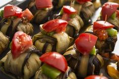 Boulette de viande et aubergine de kofte d'Islim de turc Photo stock