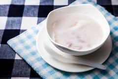 Boulette en crème de noix de coco Photo stock