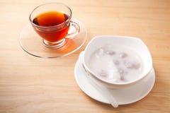 Boulette en crème de noix de coco Images stock
