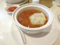 Boulette en soupe à cordyceps Images libres de droits