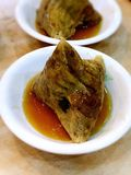 Boulette traditionnelle de riz de viande de Hokkien Image stock
