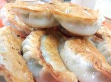 Boulettes chinoises frites Images stock