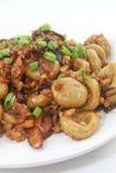 Boulettes d'abaque de Hakka avec du porc et les oignons blancs hachés Photographie stock