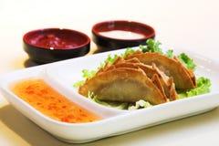 Boulettes de porc et de poulet photographie stock