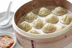 Boulettes de soupe, long bao de Xiao images stock