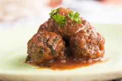 Boulettes de viande image stock