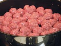 Boulettes de viande Images libres de droits