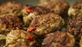Boulettes de viande d'agneau Image stock