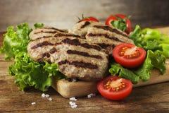 Boulettes de viande de boeuf Photo stock