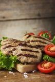 Boulettes de viande de boeuf Photos stock