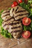 Boulettes de viande de boeuf Image libre de droits