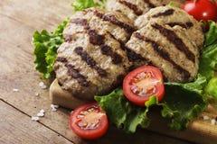 Boulettes de viande de boeuf Photos libres de droits