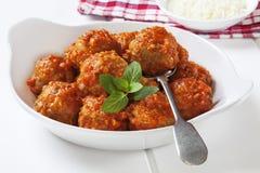 Boulettes de viande de la Turquie image libre de droits