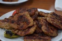 Boulettes de viande de plat photos libres de droits