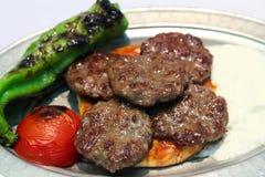 Boulettes de viande turques Photographie stock