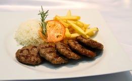 Boulettes de viande turques Photographie stock libre de droits