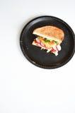 Boulettes de viande végétales avec la courgette images libres de droits