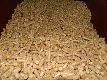 Boulettes en bois Images stock