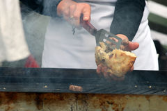 Boulettes grillées de viande Photo libre de droits