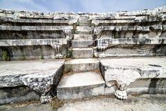 Bouleuterion of Aphrodisias in Denizli Royalty Free Stock Photo