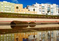 Boulevard in Cadiz Stock Photo