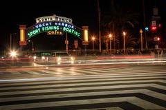 Boulevard d'océan, Santa Monica, la Californie Image stock