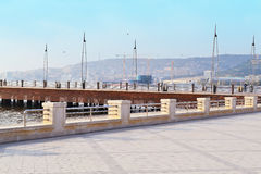 Boulevard de bord de la mer Photos libres de droits