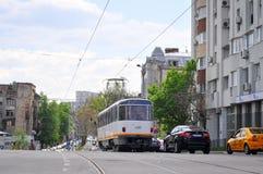 Boulevard de Bucarest Uranus image libre de droits