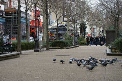 Boulevard de Clichy Royalty Free Stock Photo