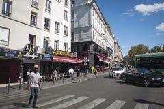 Boulevard de Clichy in Paris, France Stock Image