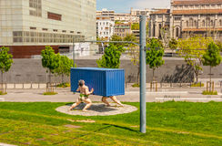 Boulevard de Paris in Marseille Royalty Free Stock Image